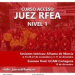 Ya abierta convocatoria seminario y examen de acceso a juez de atletismo, categoría RFEA Nivel 1 – 2021